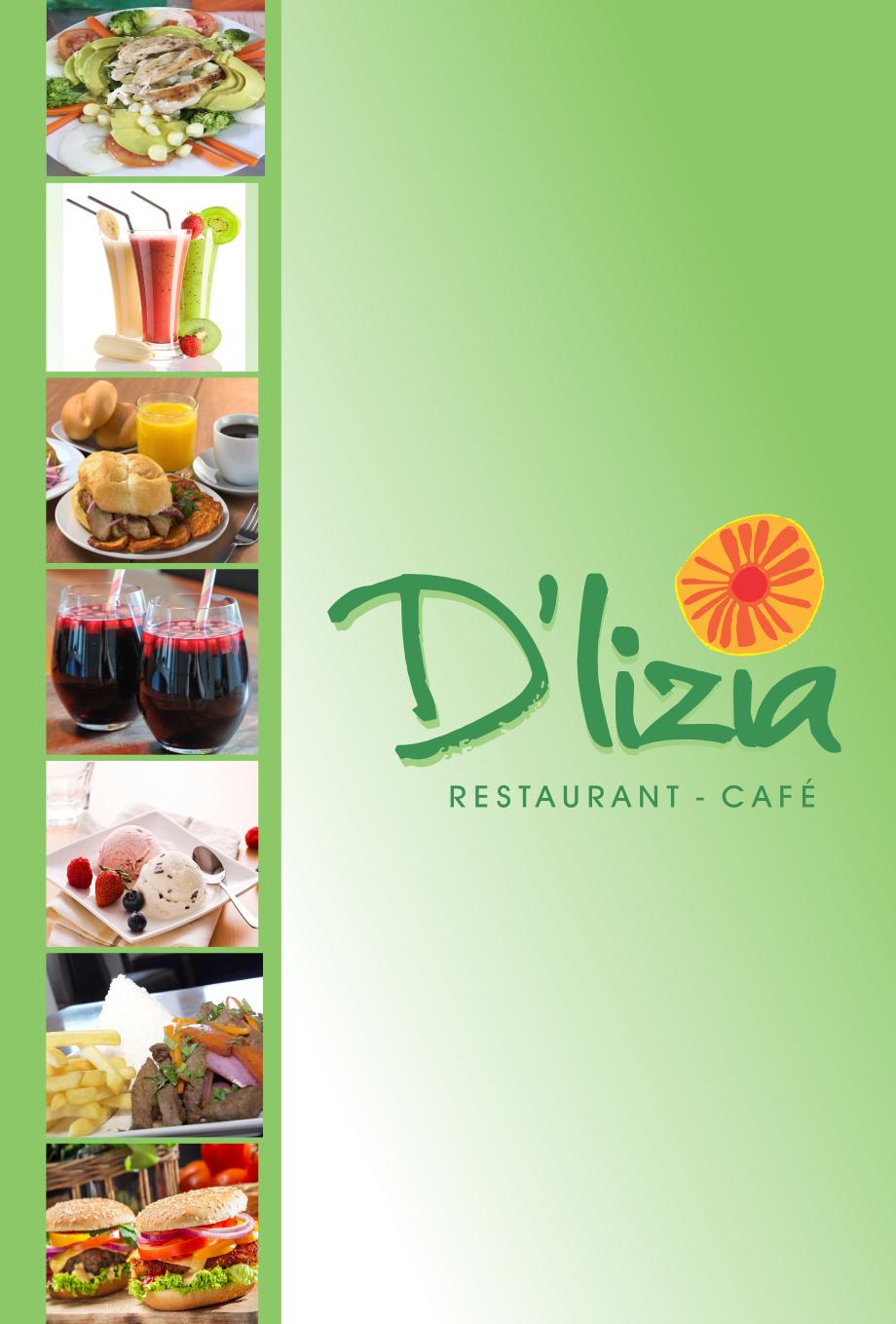 Carta D'lizia - Cafetería